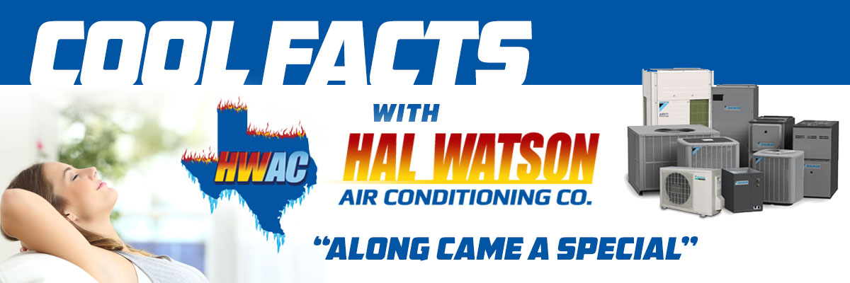 Cool Facts with Hal Watson AC: Along Came A Special