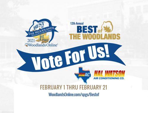 Best of The Woodlands Voting is Underway – Feb 1 thru Feb 21